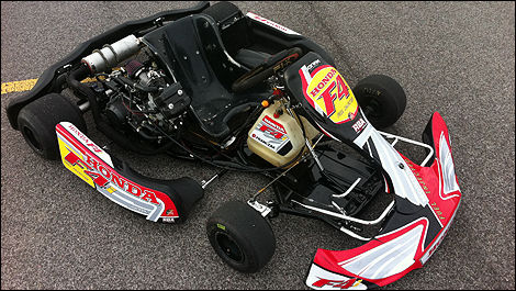 Karting Russ Bond Honda