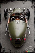 Morgan 3 Wheeler : M�me � Jay Lemon � en a une!