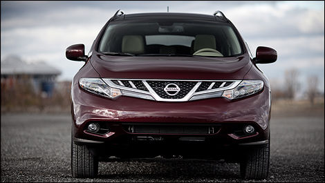 2012 Nissan Murano LE AWD Platinum front view