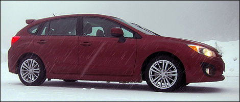 2012 Subaru Impreza right side view