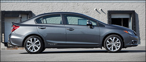 2012 Honda Civic Si Sedan Right Side