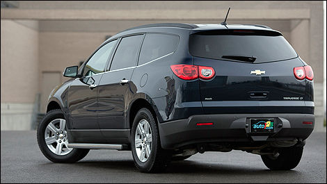 Chevrolet Traverse 2LT 2012 i01 - 2012 Chevrolet Traverse 2lt Awd