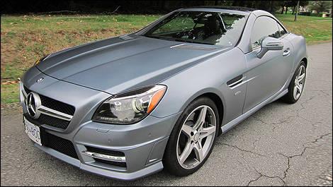 mercedes benz slk 350 dition 1 2012 essai routier essai routier actualit s automobile auto123. Black Bedroom Furniture Sets. Home Design Ideas