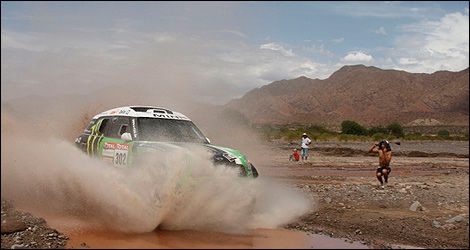 Stephane Peterhansel Mini Dakar