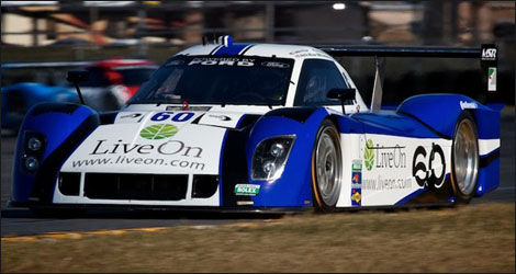 La Riley-Ford de Michael Shank Racing pilotée par Justin Wilson (Photo: SpeedTV.com)