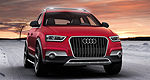 Audi deploys a wintertime SUV