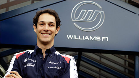 Williams F1 Bruno Senna