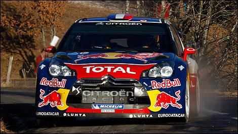 Sebastien loeb leder monte carlo rallyt