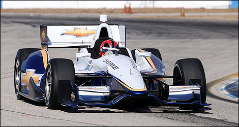 IndyCar Chevrolet Dallara Helio Castroneves