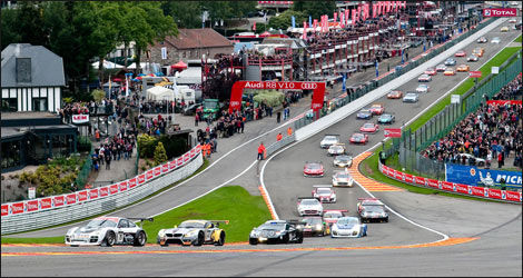 Les 24 heures de Spa comptent pour la Blancpain Endurance Series (Photo: InsightRacing.com)