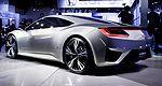 VIDEO: Acura NSX Concept at Detroit Auto Show