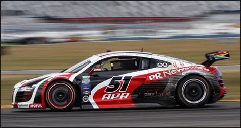The No. 51 Audi R8 Grand-Am of APR Motorsport (Photo: SPEED.com)