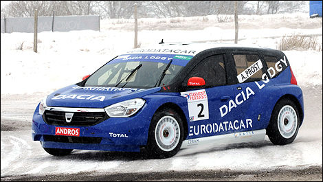 Alain Prost Dacia Trophée Andros