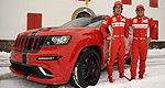 Jeep unveils a pair of Ferrari-themed Grand Cherokee SRT8s