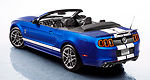 The 650 hp 2013 Ford Shelby GT500 goes topless