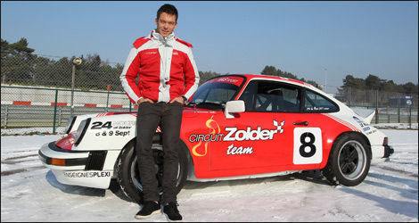 Andre Lotterer et sa Porsche 911 SC (Photo: RACB)