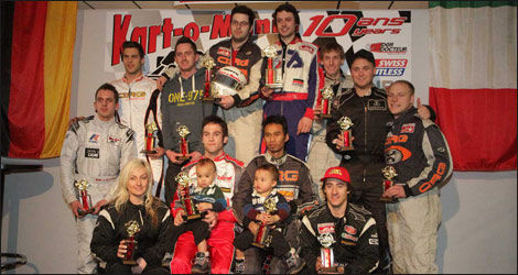 Le podium des 4 Heures Pole-Position (Photo: Pole-Position)