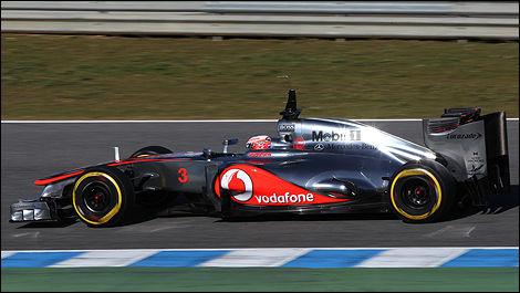 F1 Jenson Button McLaren MP4-27