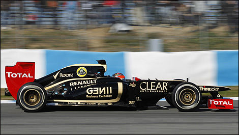 F1 Romain Grosjean Lotus E20