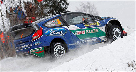 WRC Ford Petter Solberg