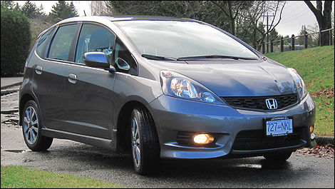 Awesome 2012 Honda Fit Sport Front 3/4 View