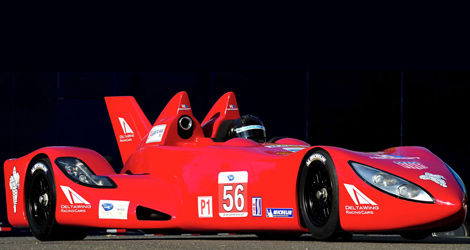 La fameuse DeltaWing (Photo: Highcroft Racing)