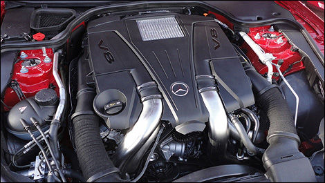 2013 Mercedes-Benz Classe SL 550 engine