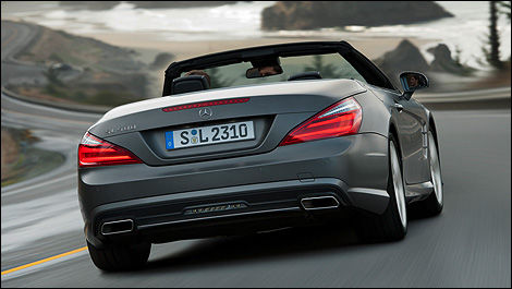 2013 Mercedes-Benz Classe SL 550 rear view