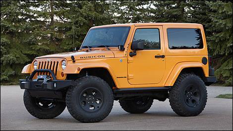 jeep et mopar d voilent six mod les moab exclusifs actualit s automobile auto123. Black Bedroom Furniture Sets. Home Design Ideas