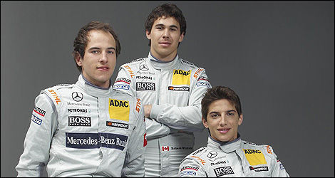 DTM Christian Vietoris Robert Wickens Roberto Merhi Mercedes