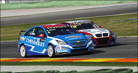 WTCC Alain Menu Chevrolet Tom Coronel BMW