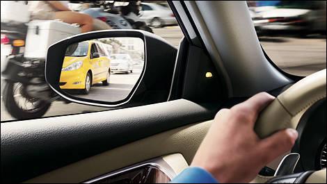 2013 Nissan Altima exterior mirrors
