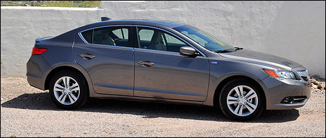 2013 Acura ILX right side view