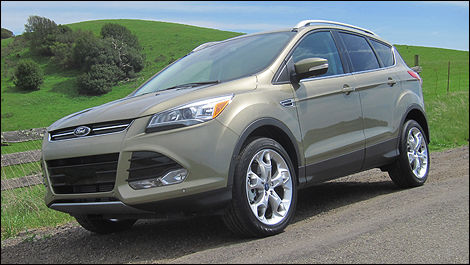2013 Ford Escape front 3/4 view