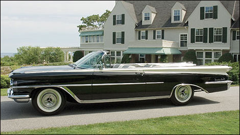 Oldsmobile 98 Convertible 1959, couleur black