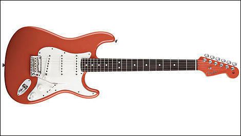 Fender Stratocaster, couleur fiesta red