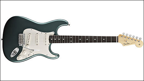 Fender Stratocaster, couleur sherwood green