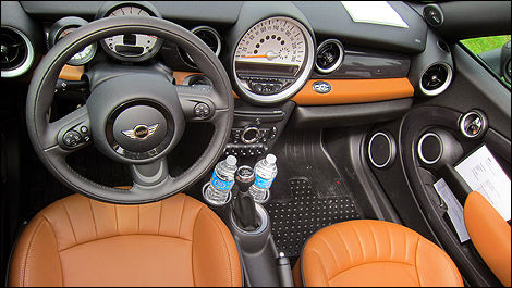 2012 MINI Cooper Roadster dashboard