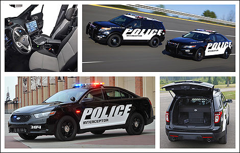 Ford Police Interceptor berline et utilitaire 2013