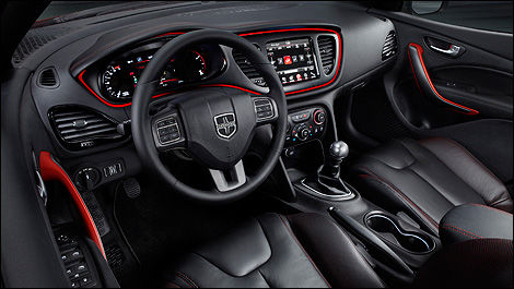 2013 Dodge Dart dashboard