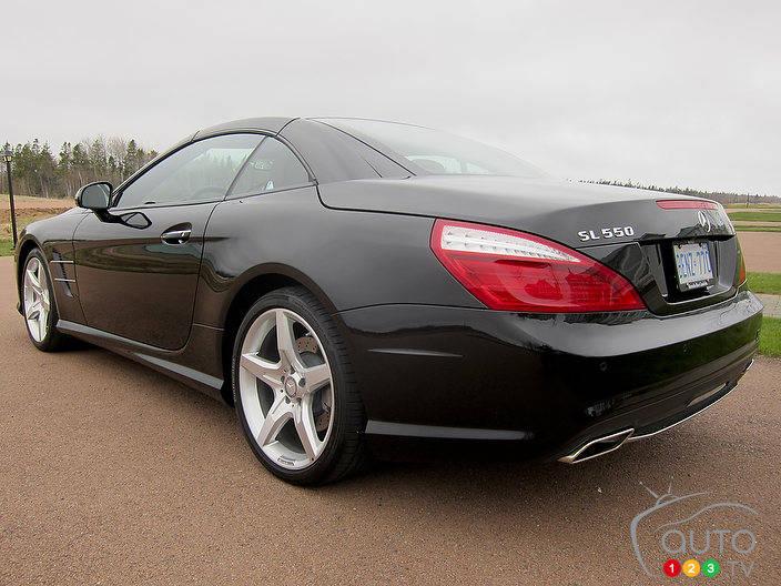 2013 Mercedes-Benz SL 550 First Impressions Editor's ...