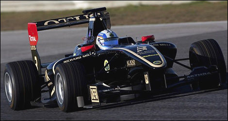 GP3 Aaro Vaino Lotus GP