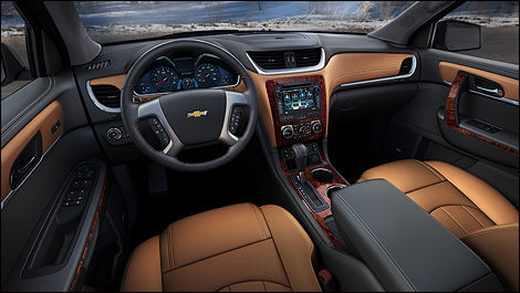 Chevrolet Traverse 2013 habitacle