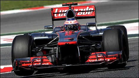 McLaren F1 Jenson Button