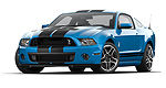 Ford Mustang Shelby GT500 2013 : aperçu