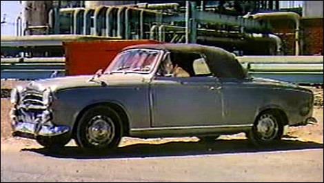 la peugeot 403 cabriolet de columbo actualit s automobile auto123. Black Bedroom Furniture Sets. Home Design Ideas