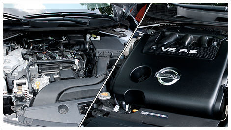2013 Nissan Altima engines