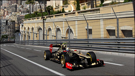 Romain Grosjean Lotus F1