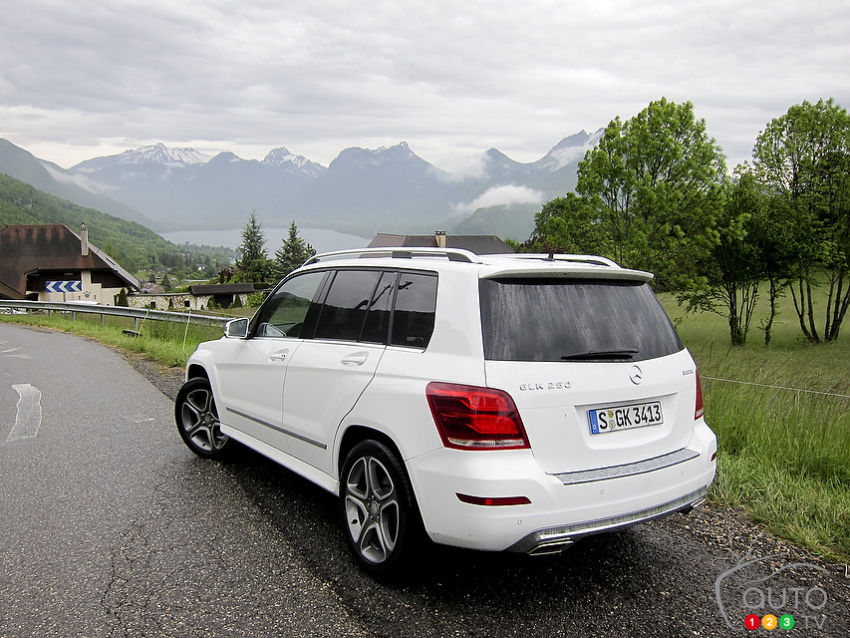 mercedes benz classe glk 2013 premi res impressions. Black Bedroom Furniture Sets. Home Design Ideas