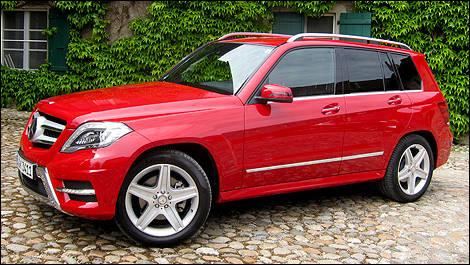 2017 Mercedes Benz Cle Glk 250 Bluetec Left Side View